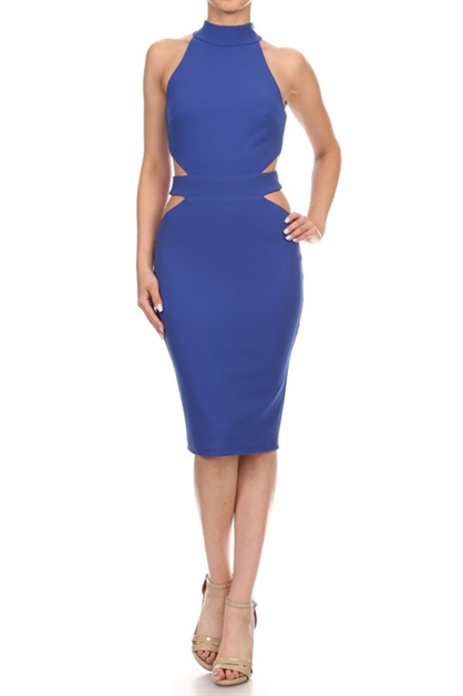 CUTOUT DRESS  - orangeshine.com