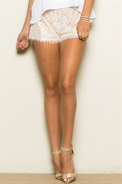 LACE SHORTS - orangeshine.com