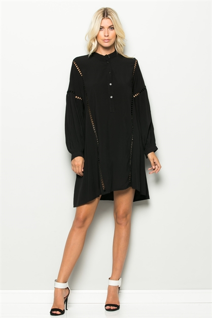 LONG SLV TUNIC SHIRT - orangeshine.com