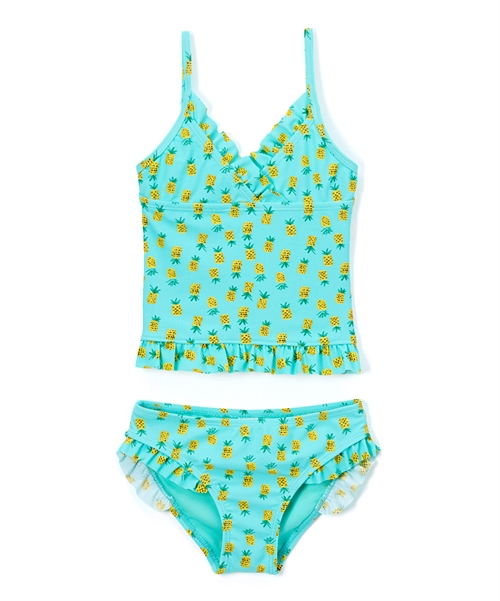 Mint Pineapple Tankini Set - orangeshine.com
