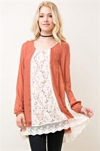 Solid Scoop Neck Top - orangeshine.com