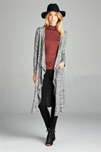 WATER FALL LONG CARDIGAN - orangeshine.com