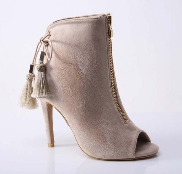 Booties SUEDE - orangeshine.com