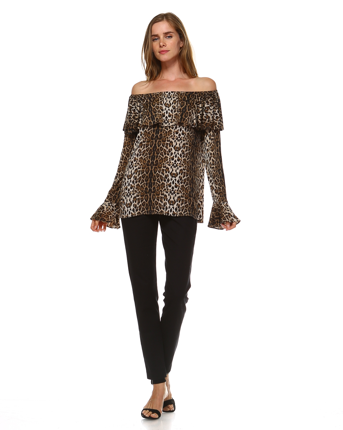 ANIMAL PRINT TOP - orangeshine.com