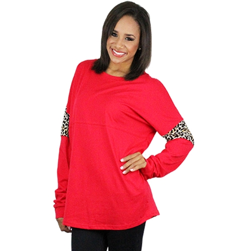 Spirit Jersey with Leopard - orangeshine.com