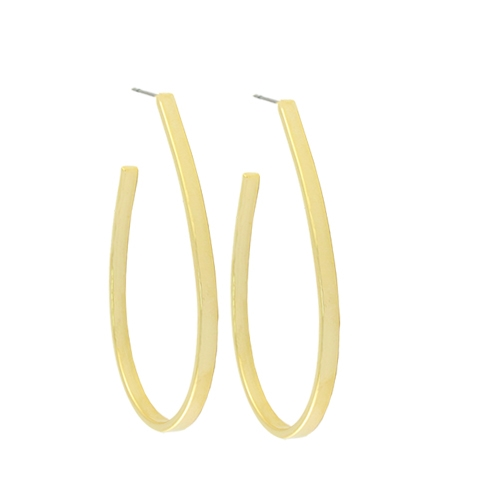 Tear Drop Hoop Earrings - orangeshine.com