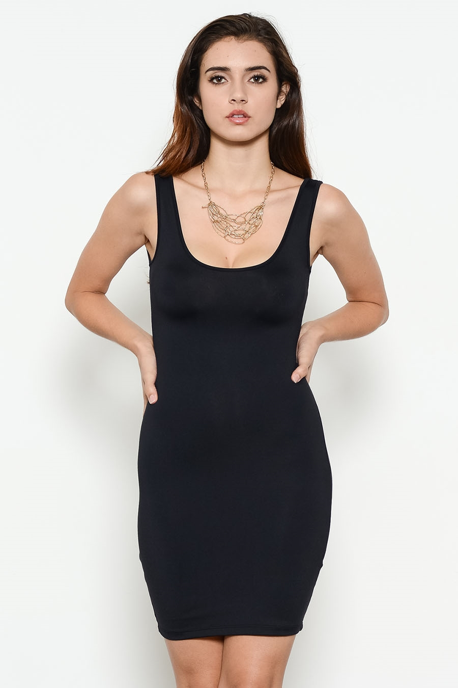 MICRO TANK TOP DRESS - orangeshine.com
