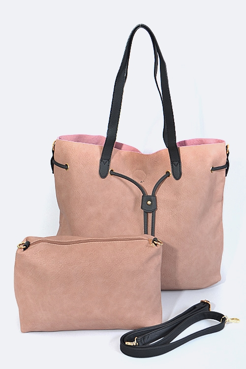 Drawstring Tote and Pouch - orangeshine.com