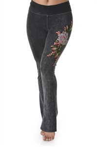 EMBROIDERY YOGA PANT - orangeshine.com