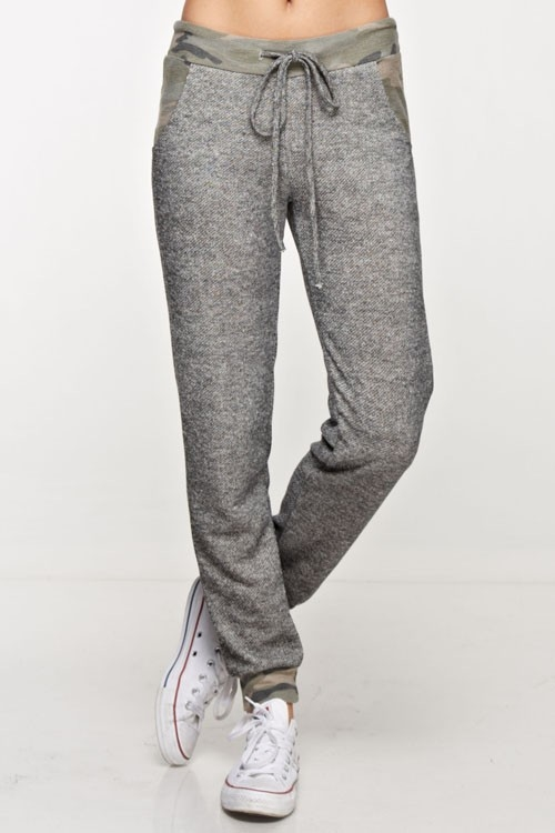 Loop terry jogger pants - orangeshine.com