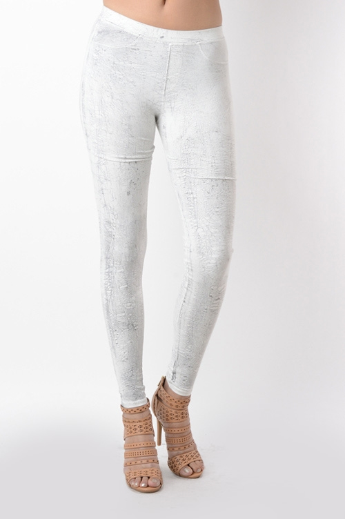 CRACKLE TIE DYE JEGGING - orangeshine.com