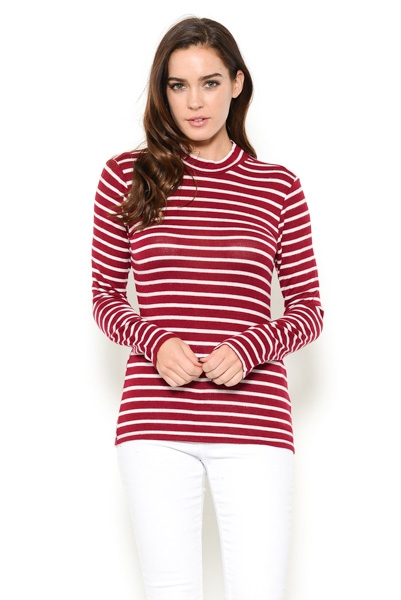 Stripe Long Sleeve - orangeshine.com
