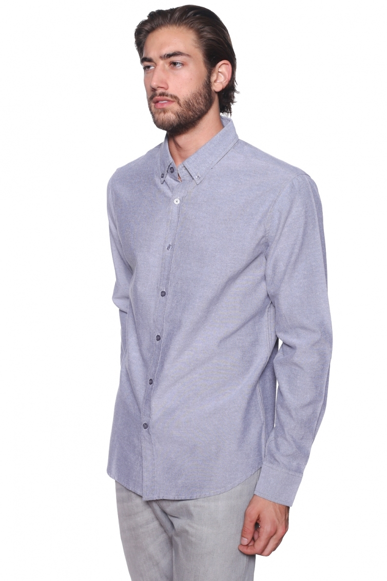 Mens Casual ButtonDown Oxford FittedFit  - orangeshine.com