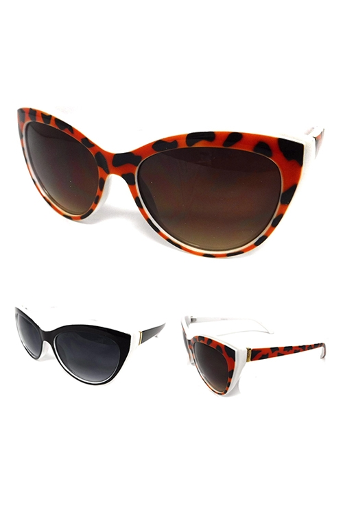 2 Tone Fashion Sunglasses - orangeshine.com