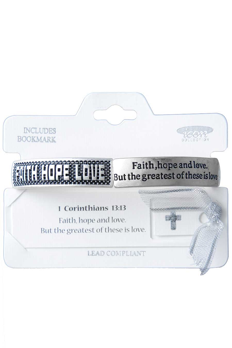 FAITH HOPE LOVE BRACELET - orangeshine.com