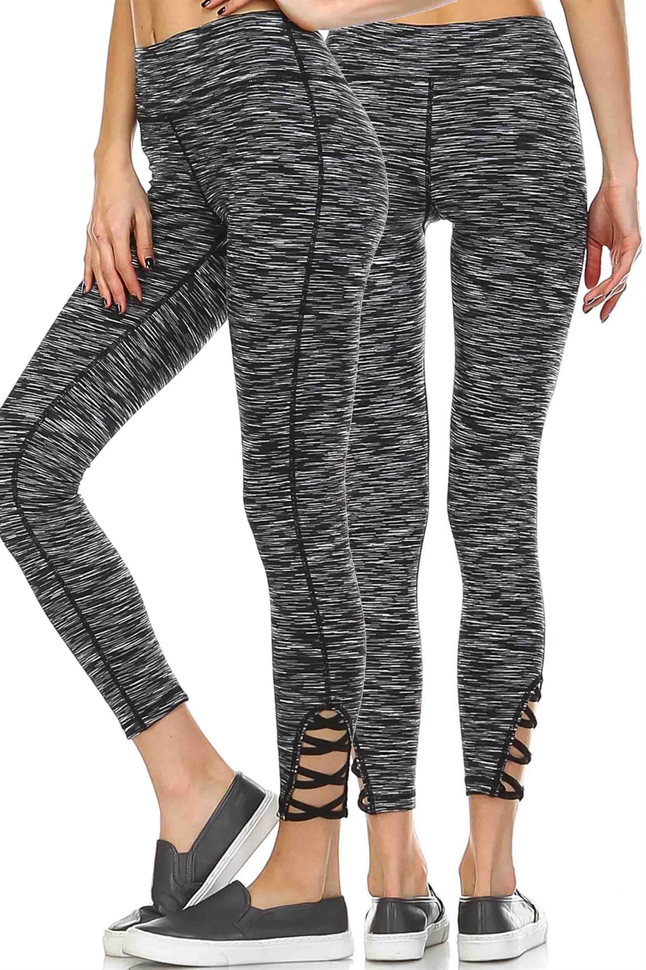 CRISS CROSS LEGGINGS - orangeshine.com