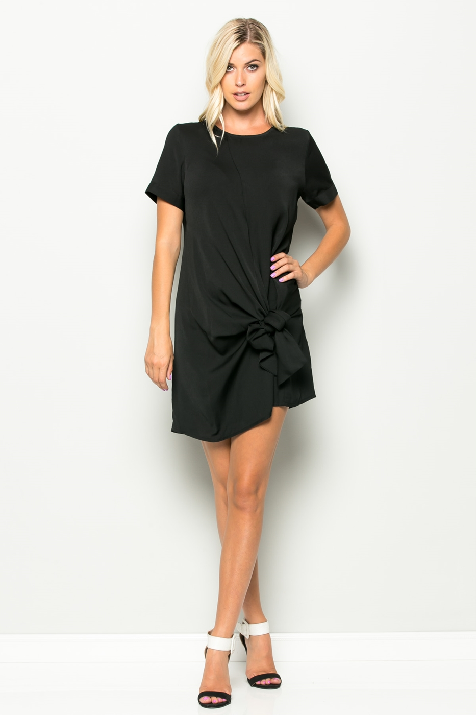 KNOT TREND TUNIC DRESS - orangeshine.com