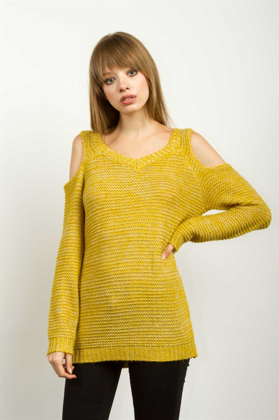 CRISSCROSS SWEATER - orangeshine.com