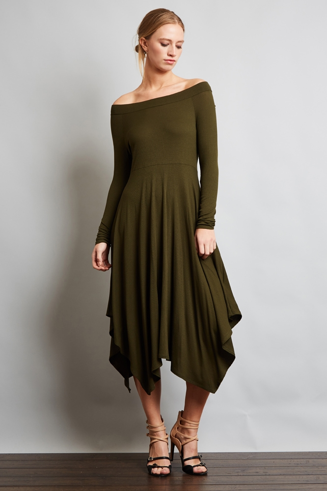 MIDI DRESS - orangeshine.com