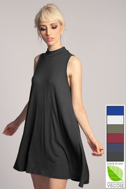 MOCK TANK DRESS - orangeshine.com
