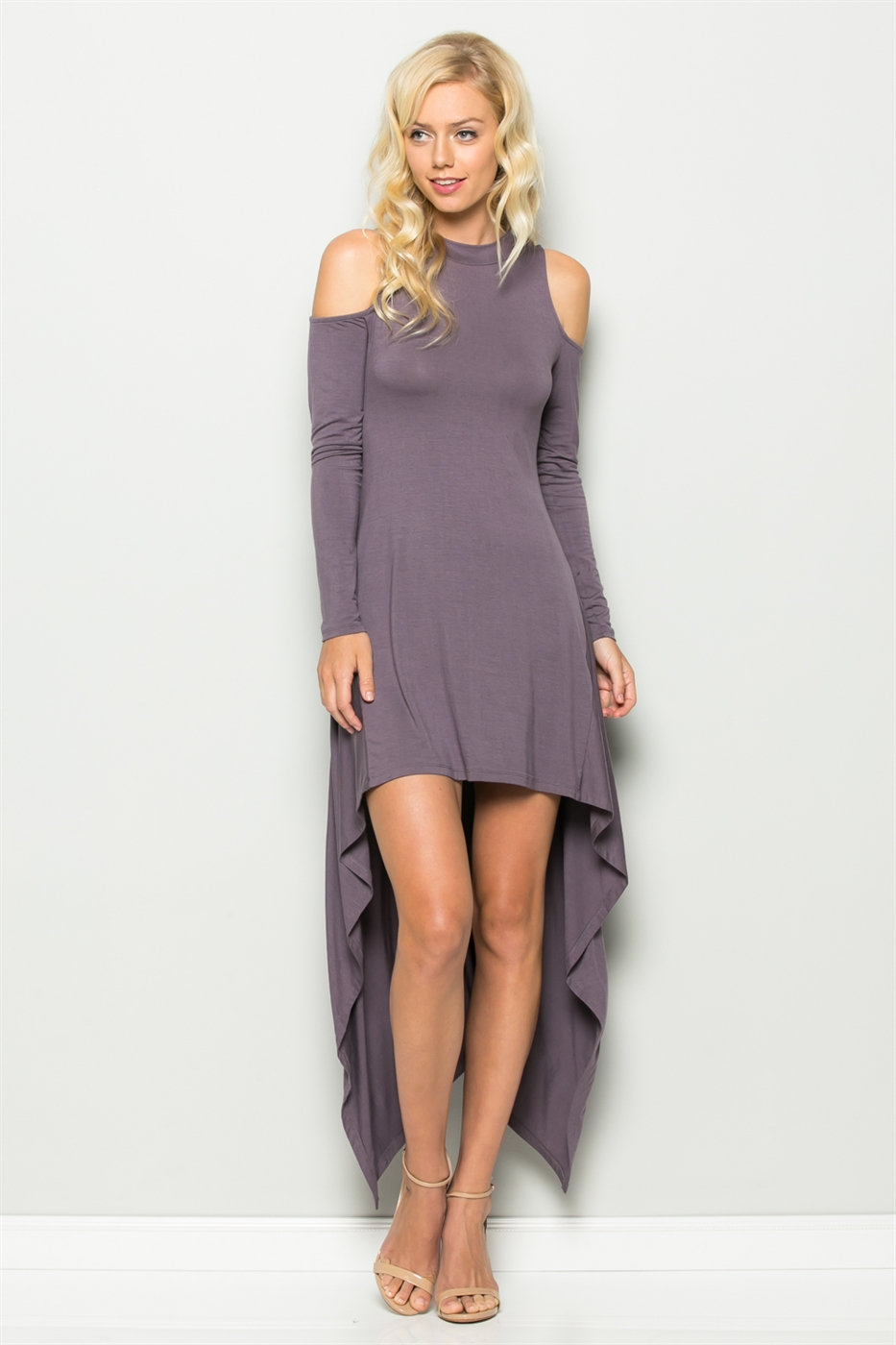 HI-LOW HEM DRESS - orangeshine.com