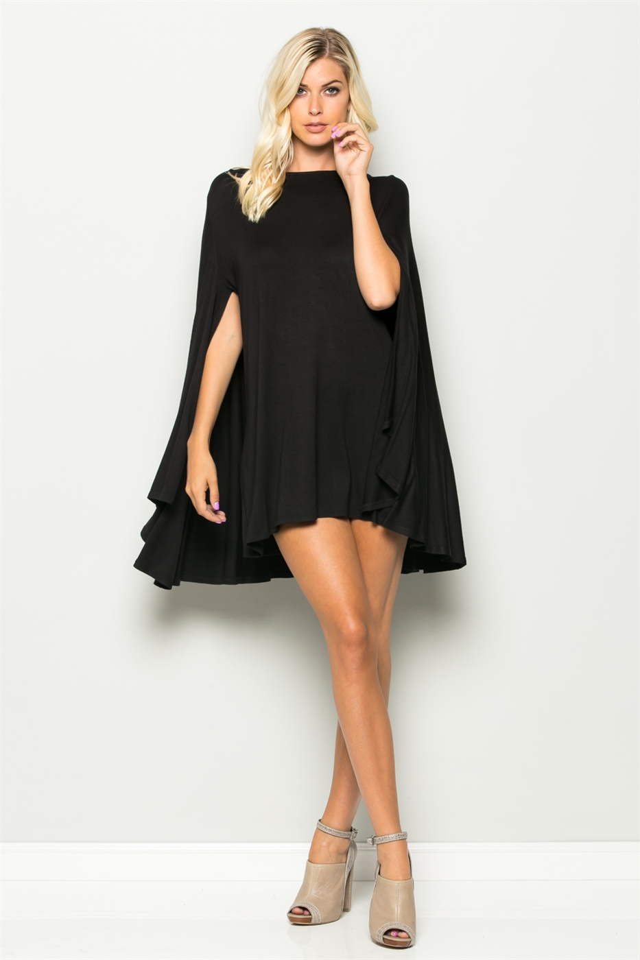 Mini Cape Dress - orangeshine.com