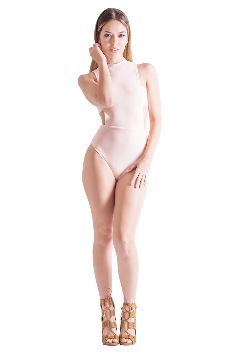 SIDE BOOB BODYSUIT - orangeshine.com