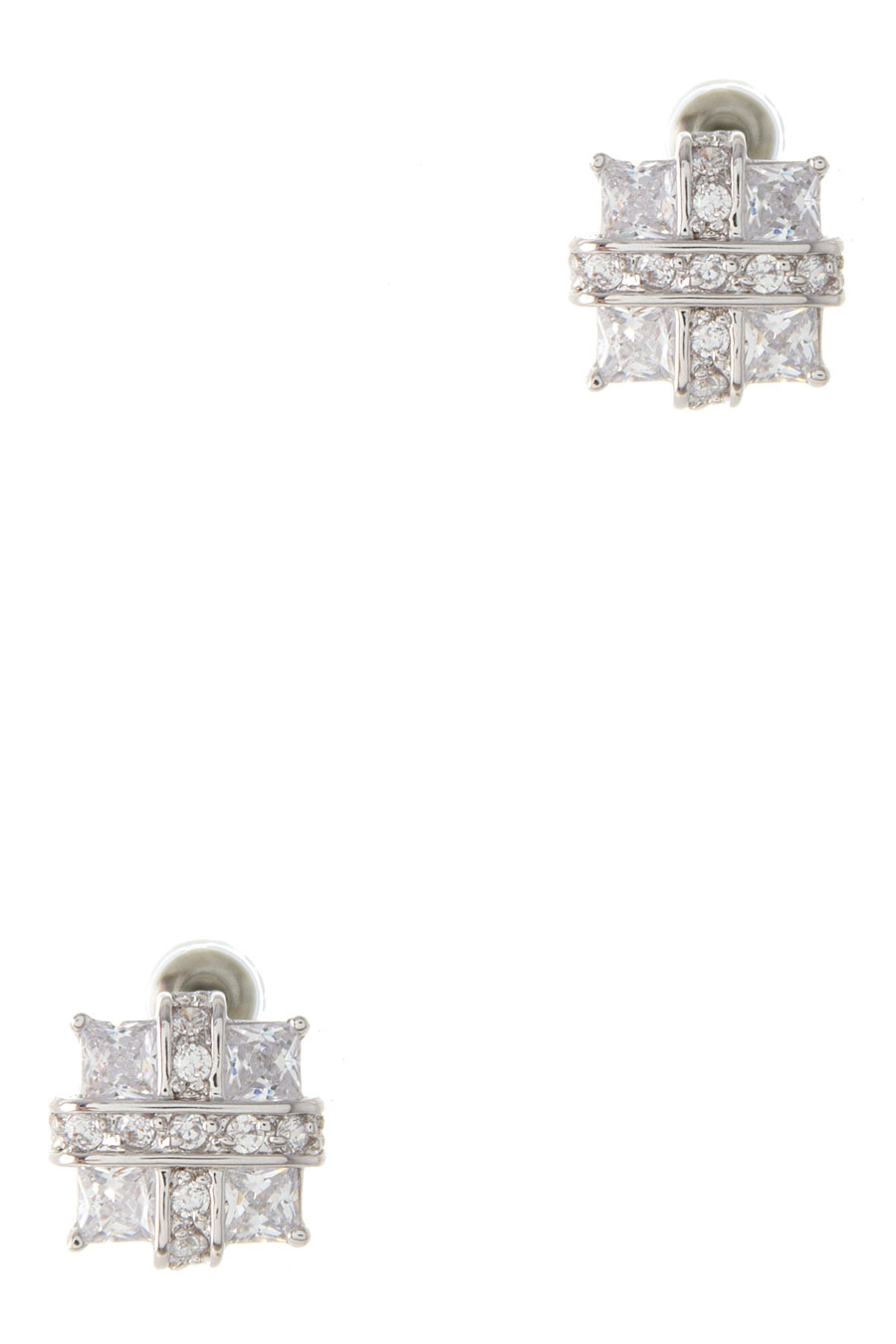 ELEGANT SQUARE DESIGN EARRING - orangeshine.com