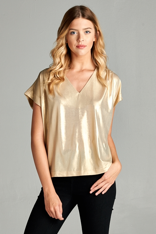 STARLIGHT SHIMMER TOP - orangeshine.com