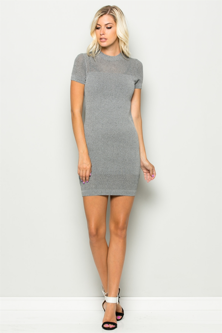 SUMMER WEIGHT KNIT DRESS - orangeshine.com