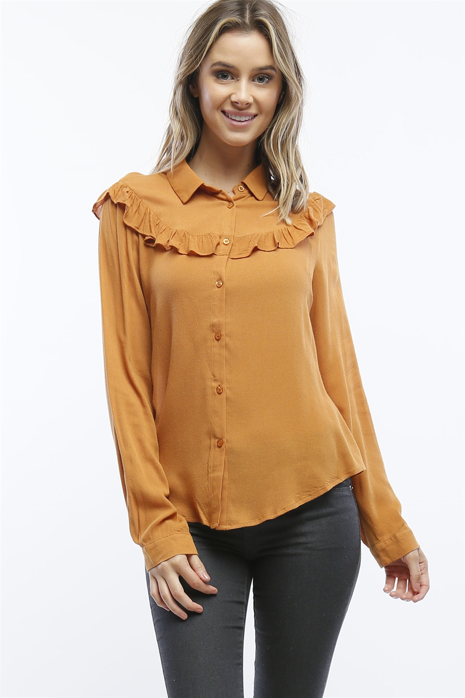 Crepe Dress Shirt - orangeshine.com