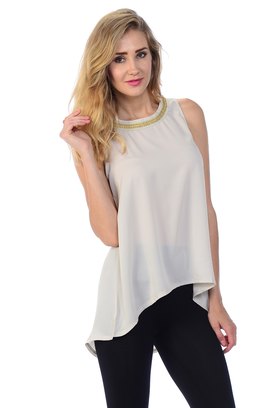 SASSY FLOWING TOP - orangeshine.com