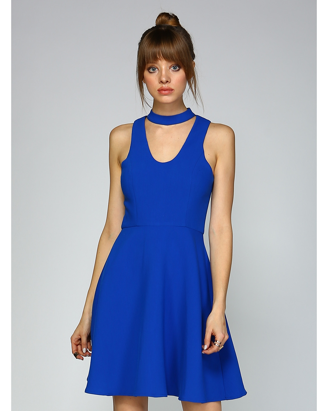 SIMPLE FIT AND FLARE DRESS - orangeshine.com