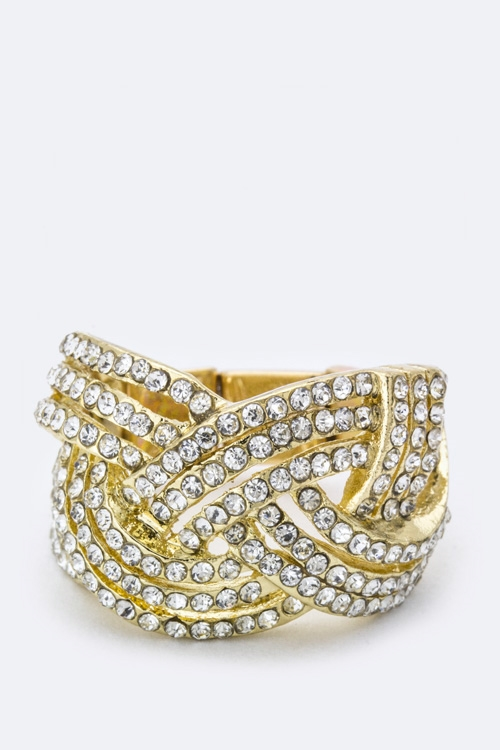 Crystal Stretch Ring - orangeshine.com