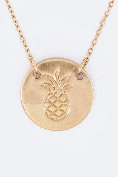Pineapple Imprint Pendant  - orangeshine.com