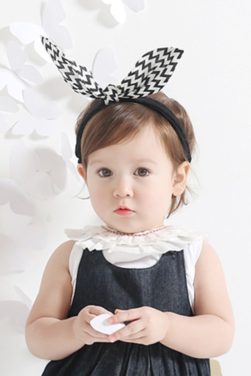 Kids Sculptable Bow Headband - orangeshine.com