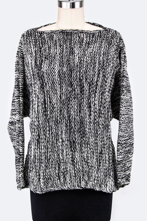 Dolman Sleeves Space Sweater - orangeshine.com