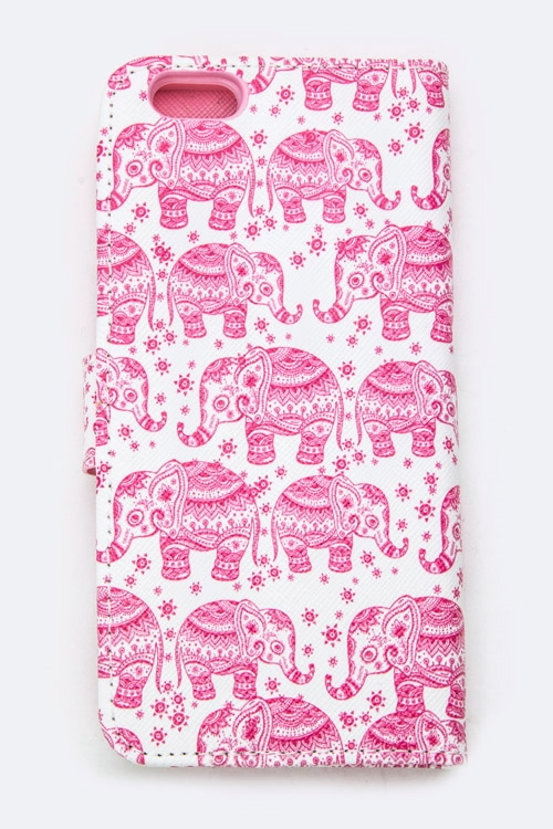 Elephant Print Iphone 6S  - orangeshine.com