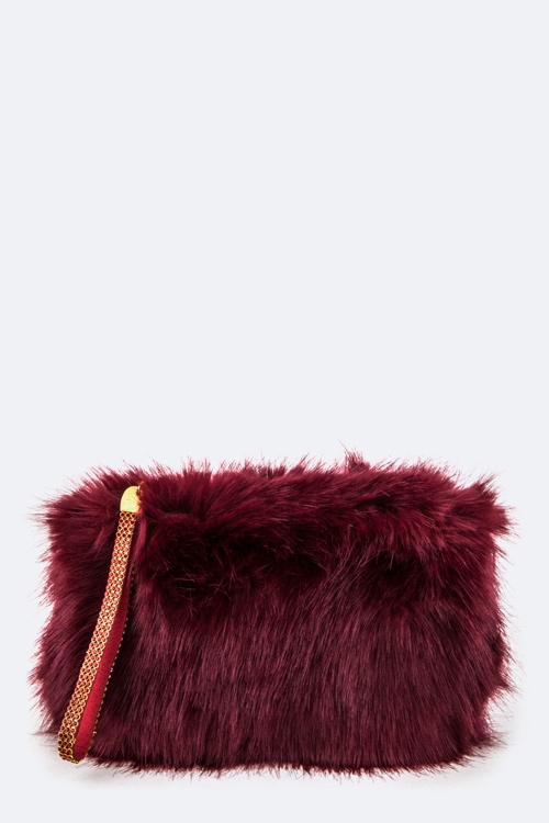 Fur Convertible Pouch - orangeshine.com