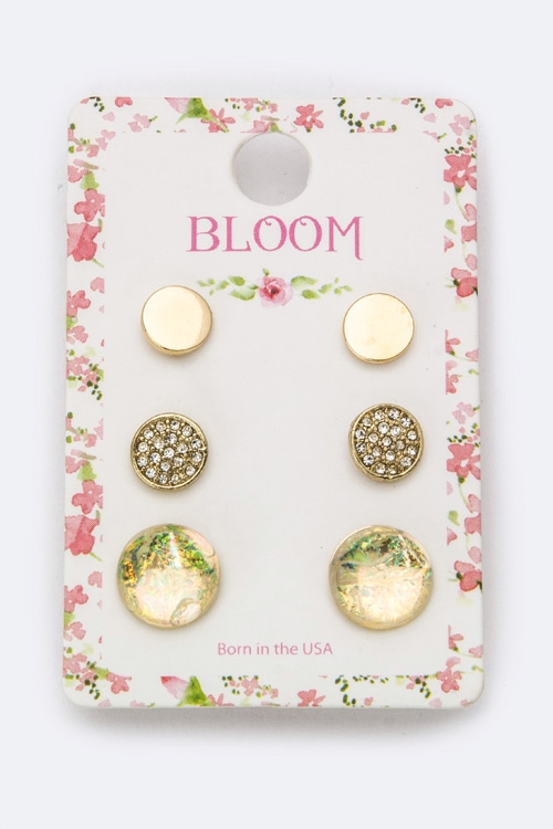 Mix Round Studs Set - orangeshine.com