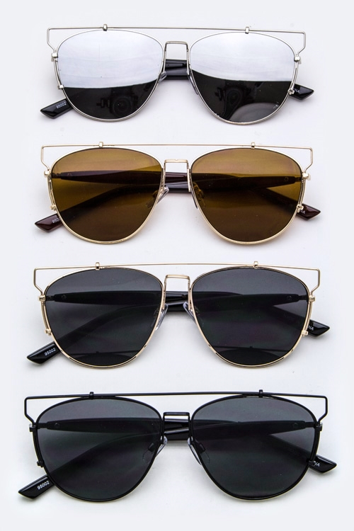 Top-Bar Iconic Sunglasses - orangeshine.com
