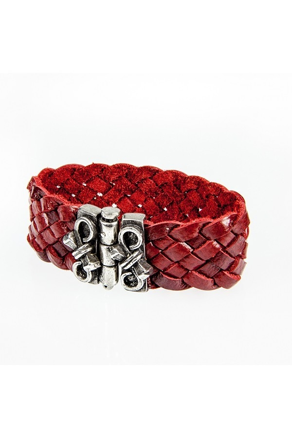 Red Small Carval Bracelet - orangeshine.com
