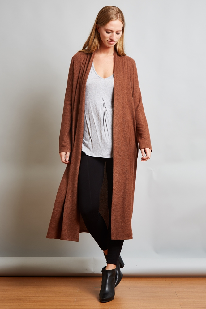HACCI LONG CARDIGAN - orangeshine.com