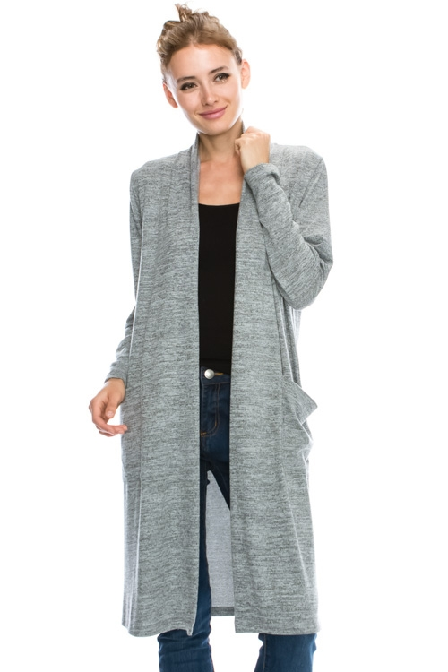 MID LONG SLIM FIT CARDIGAN - orangeshine.com