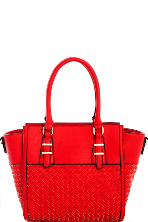 Princess Woven Satchel - orangeshine.com