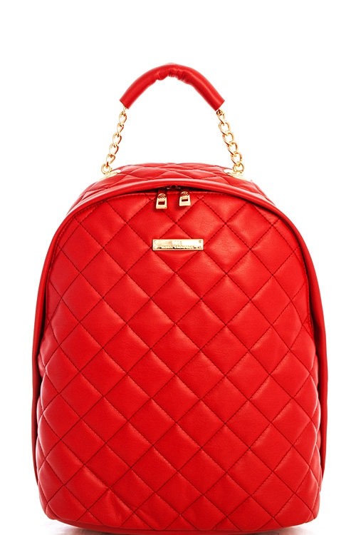 Alba NX Quilted Backpack - orangeshine.com