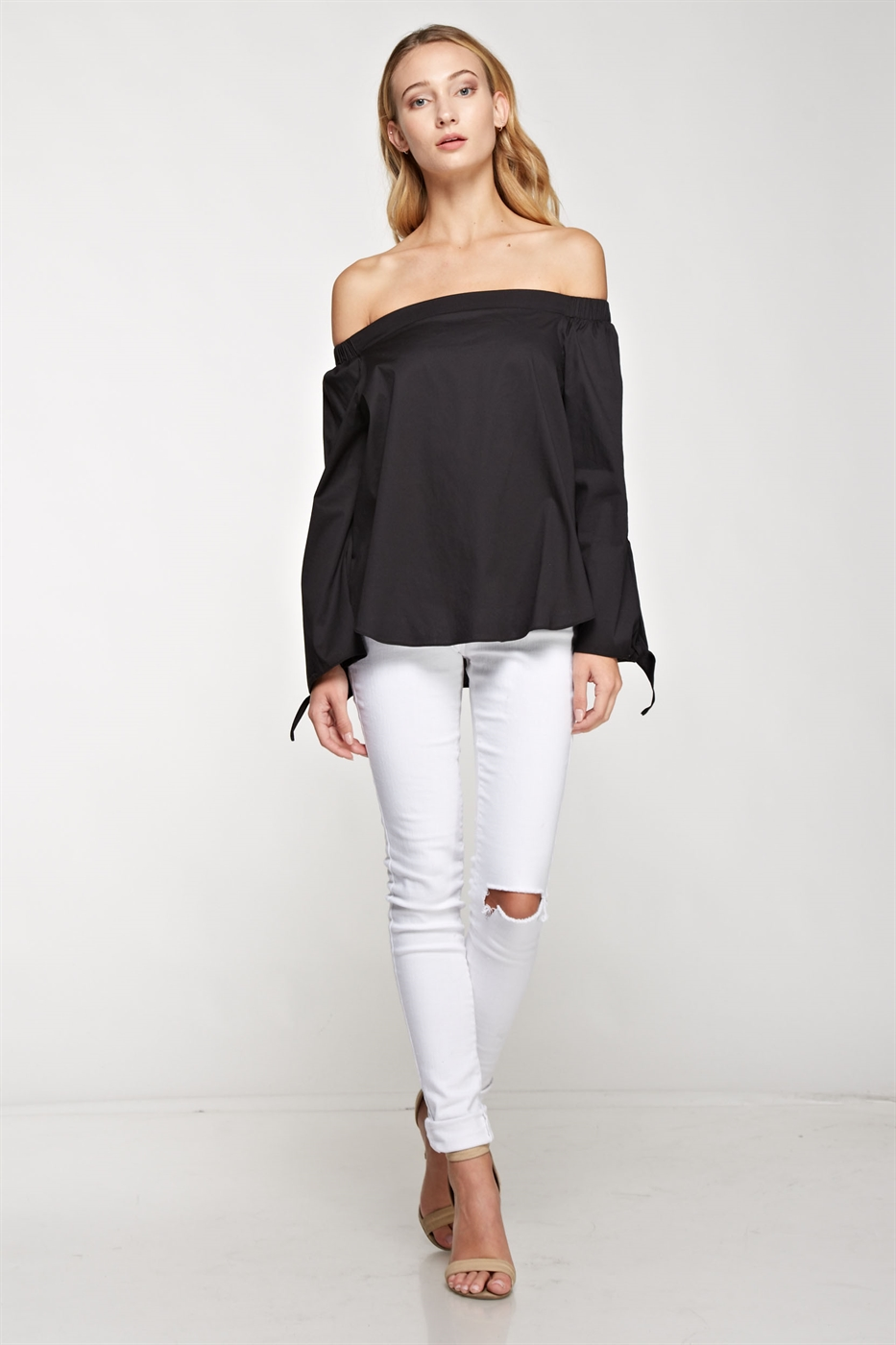 Off-The-Shoulder Top - orangeshine.com
