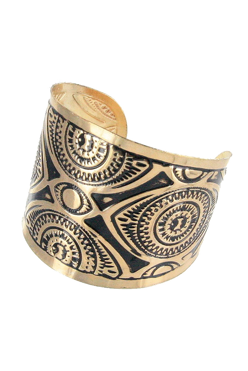 Tribal Cuff Bangle - orangeshine.com