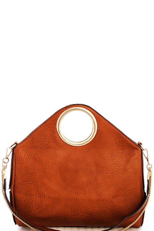 Fashion Double Strap Satchel - orangeshine.com
