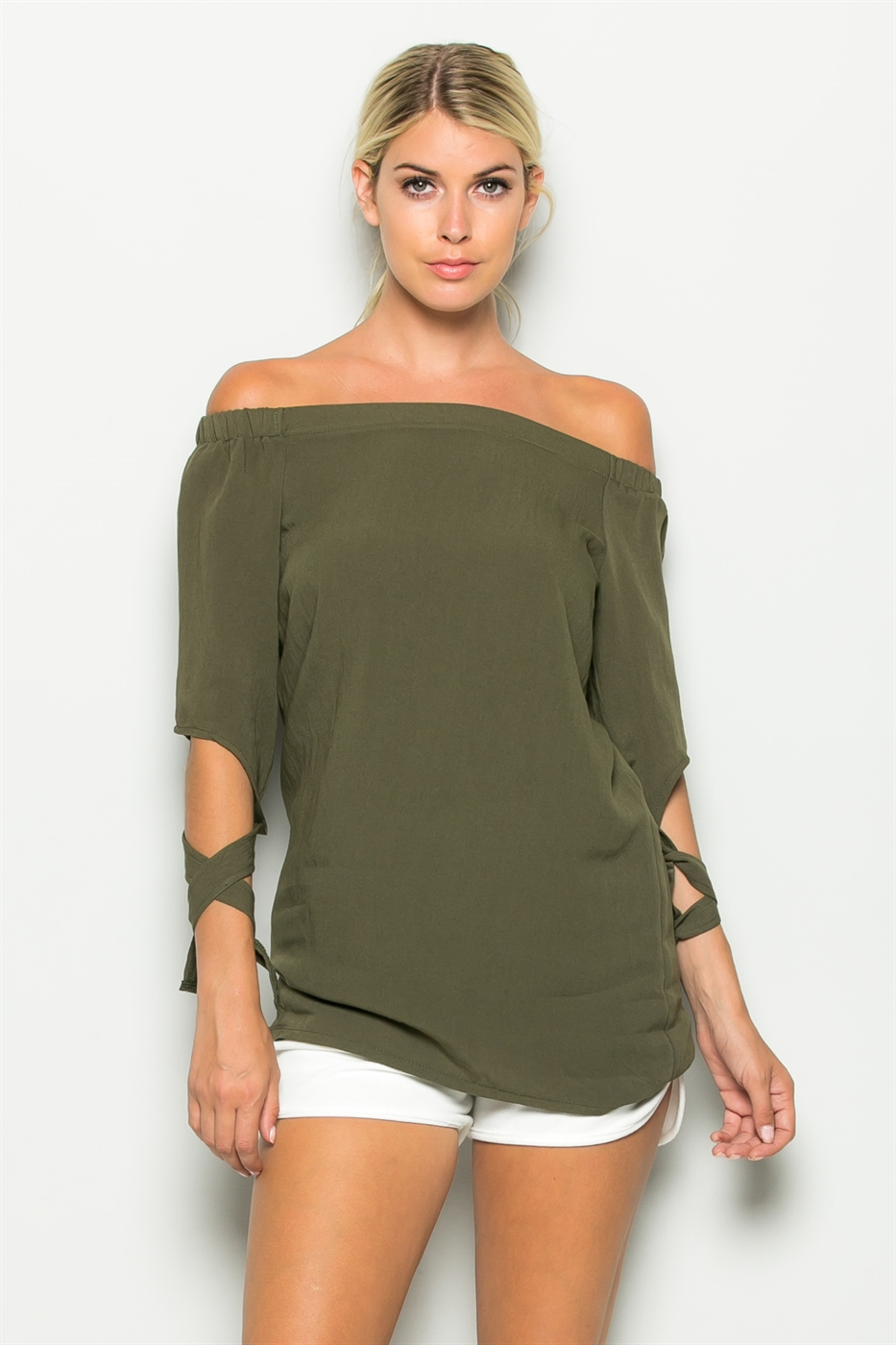 TIE SLEEVE TOP - orangeshine.com